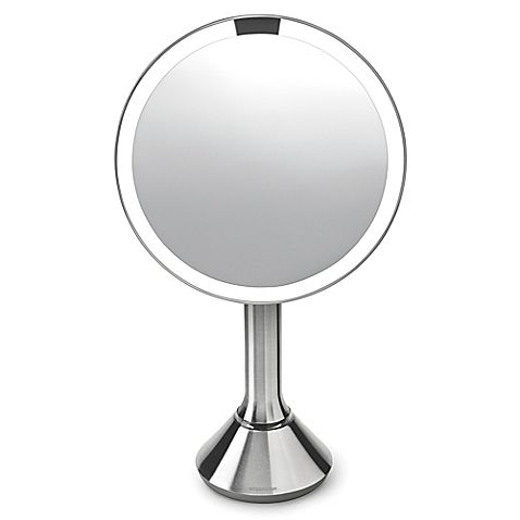 Simplehuman 8 Sensor Mirror With Touch Control Brightness