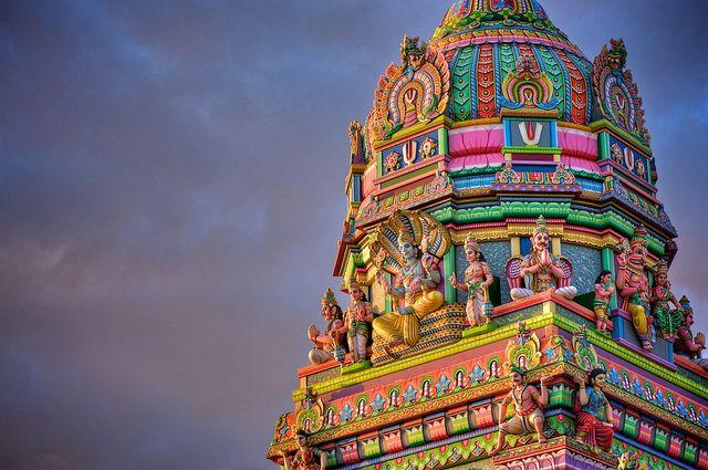 reunion island, Narassingua Perournal Temple