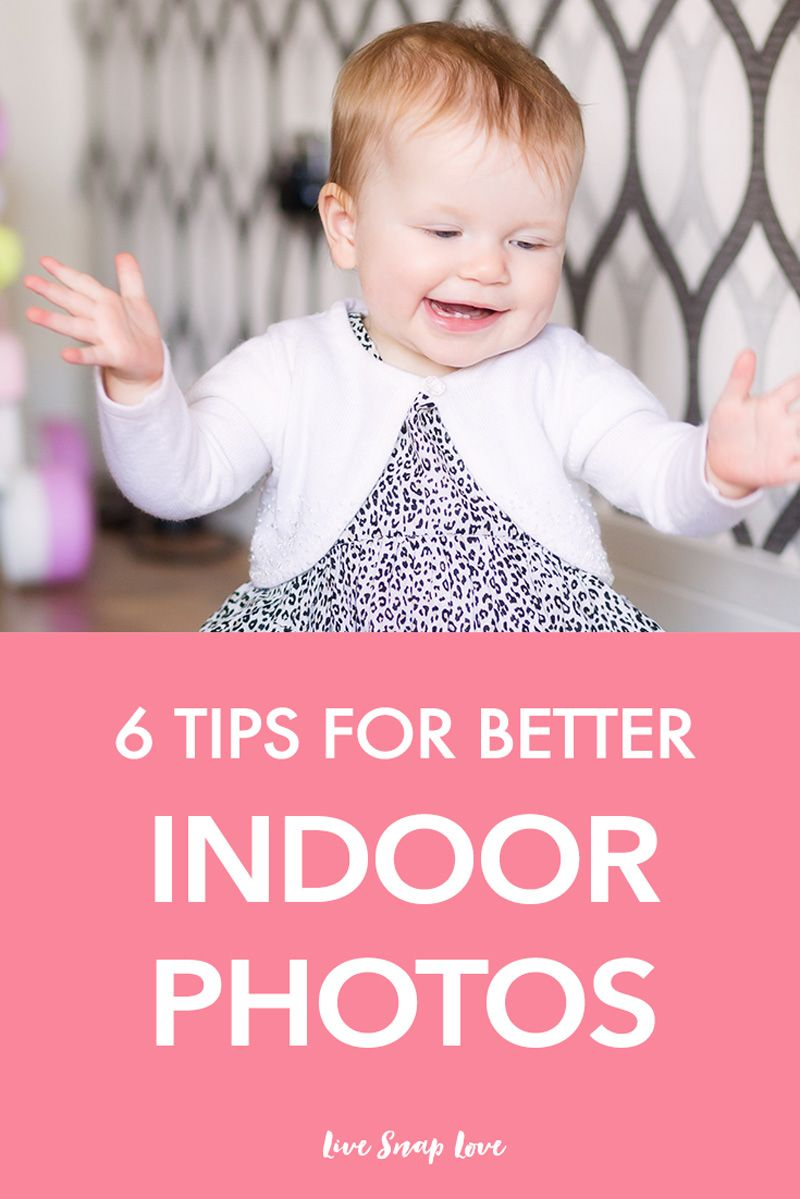 Learn how to take better images indoors with these simple tips and tricks! Click through to read all 6 tips.
