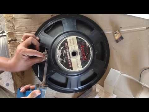 How fix Speaker Bass when Voice Coil broken | How to Change