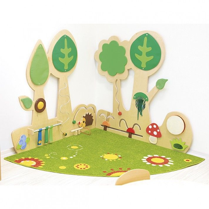 Forest Sensory Wall Set 1 … | Pinteres…