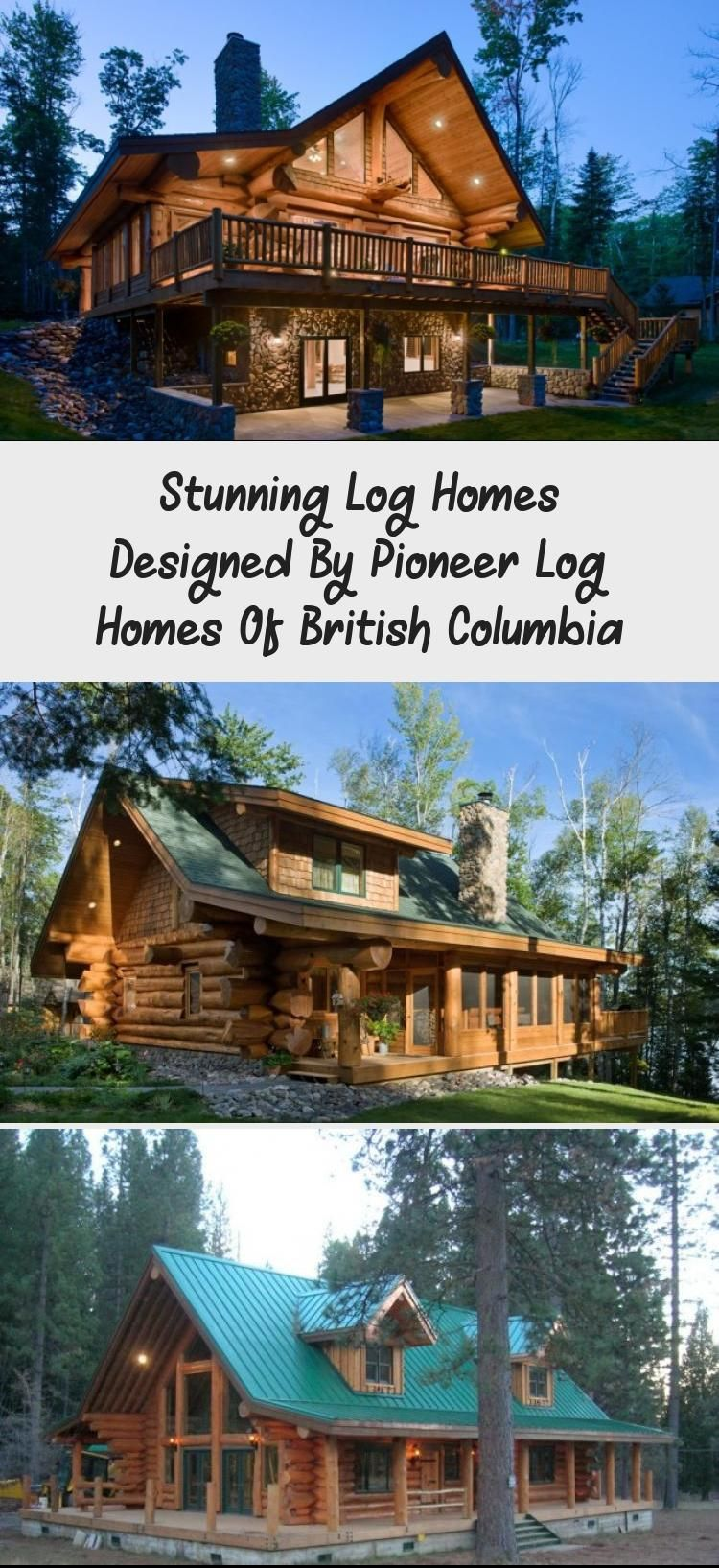 Stunning Log Homes Designed By Pioneer Log Homes Of British Columbia Woodencabindesign Woodencabinsnow Cozywoodencab Log Home Designs Log Homes House Design