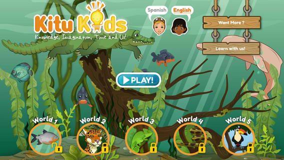 Tech Tuesday Amazon Rainforest Discovery Bilingual App