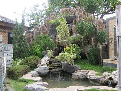 Contoh Gambar Home Garden Waterfall 20 Ugum Spider Web Co