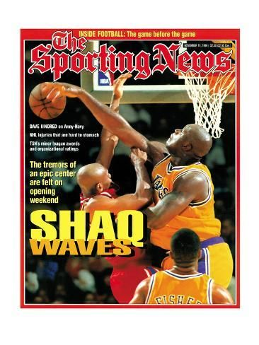 Los Angeles Lakers Shaquille O Neal November 11 1996 Photo Art Com In 2020 Shaquille O Neal Los Angeles Lakers Shaq