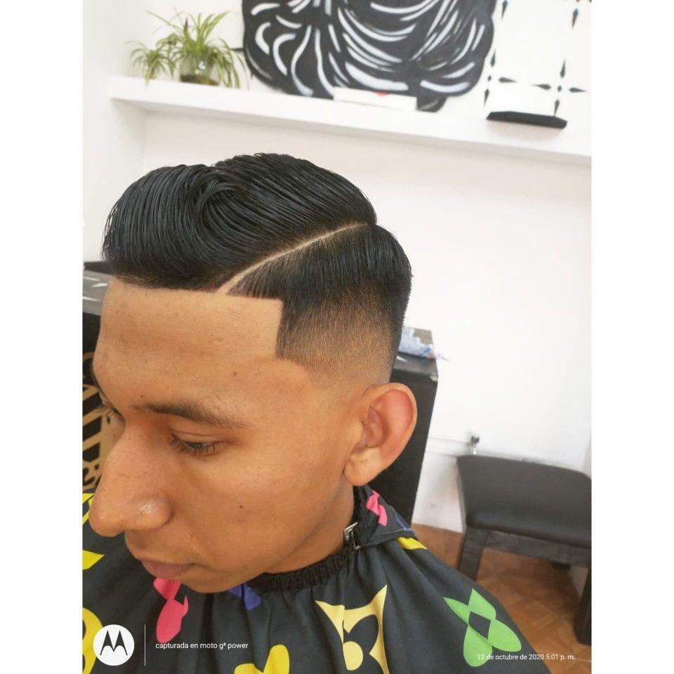 Fade Haircut Desvanecido Medio Caída