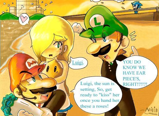 Luigi S Valentines Date With Rosalina Luigi And Daisy Luigi Mario Comics