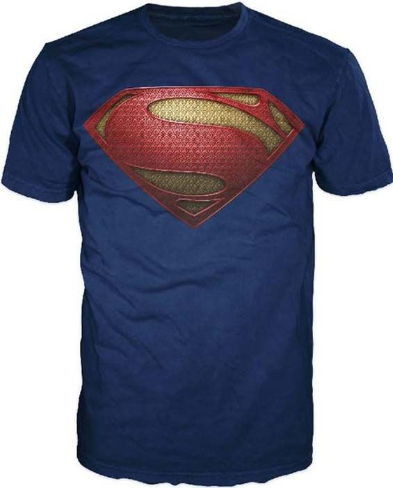 la nueva camiseta de Superman