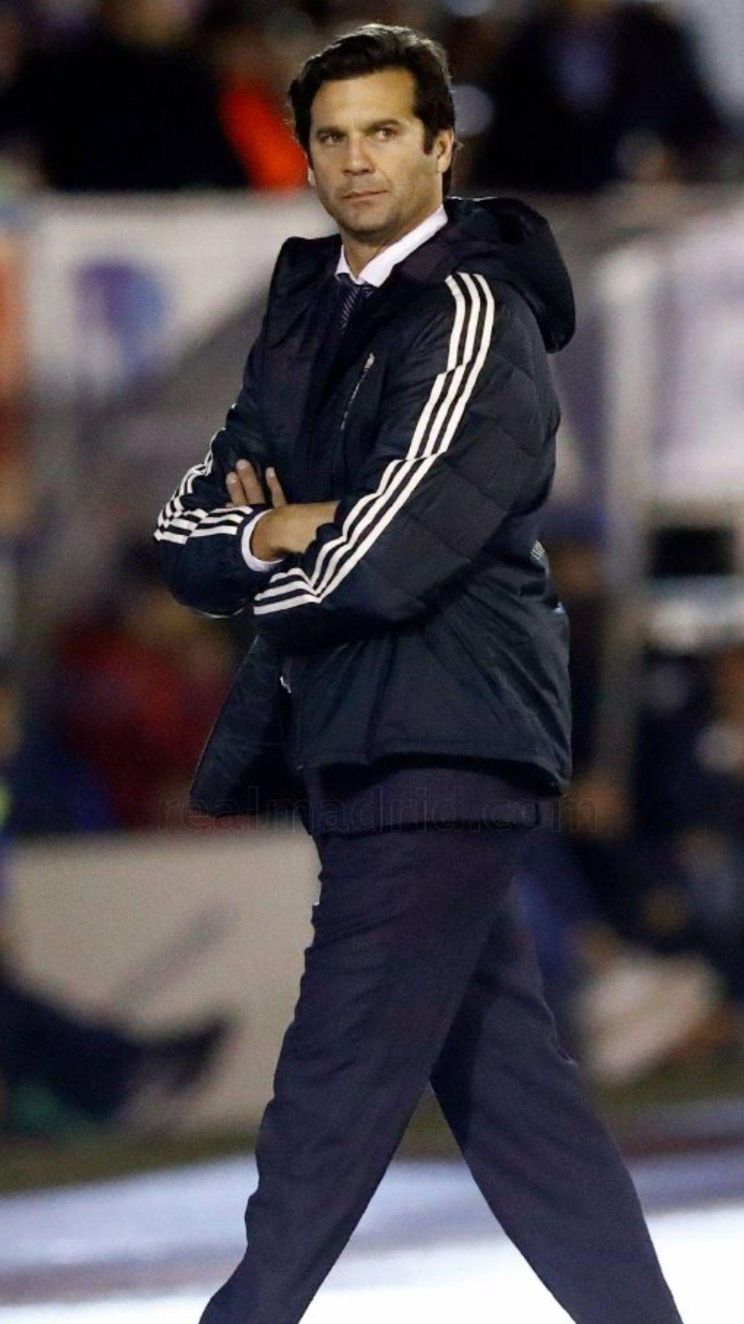 Santiago Solari (entrenador). Debut tras la destitución de Julen Lopetegui el (31/10/2018).