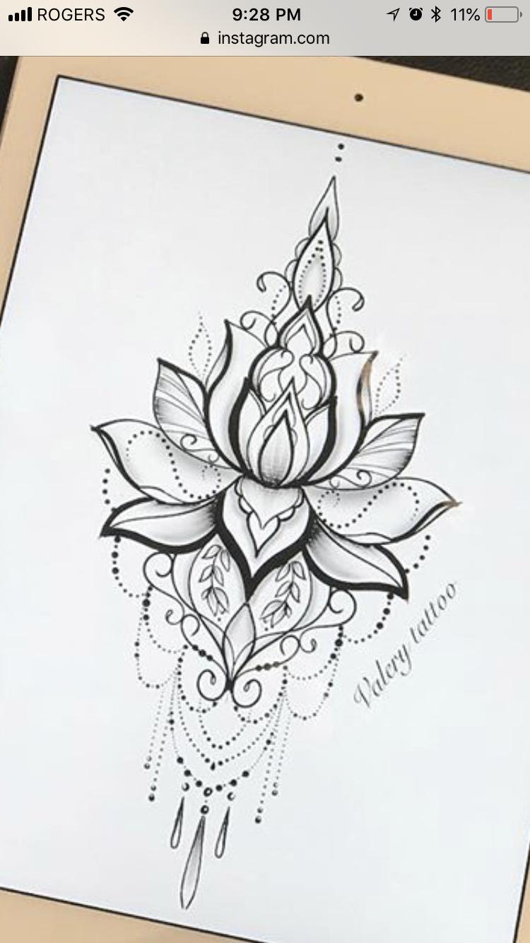 Best 7 Mandala design tattoo – Would love this as a temp on my sternum – – #Uncategorized – SkillOfKing.Com #mandala
