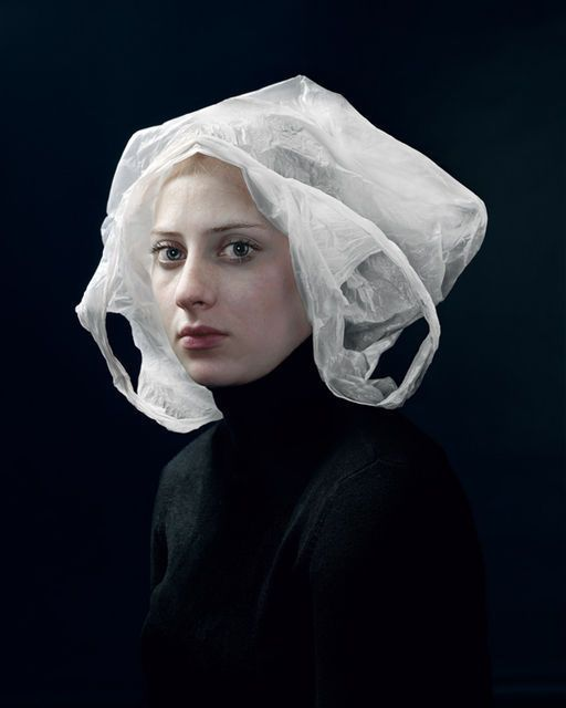 Hendrik Kerstens, Bag (2007). This artist is recreating Old Master compositions with mundane, contemporary objects. HUMOR IN ART