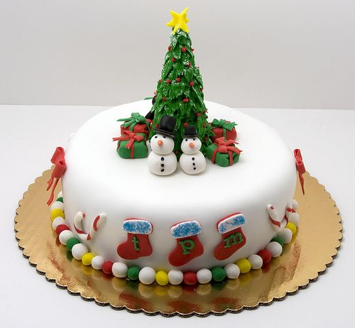 a traditional boozy british christmas cake with marzipan and fondant covering and decorations christmas desserts and cakes christmascakes cakes - British Christmas Cake Decorations