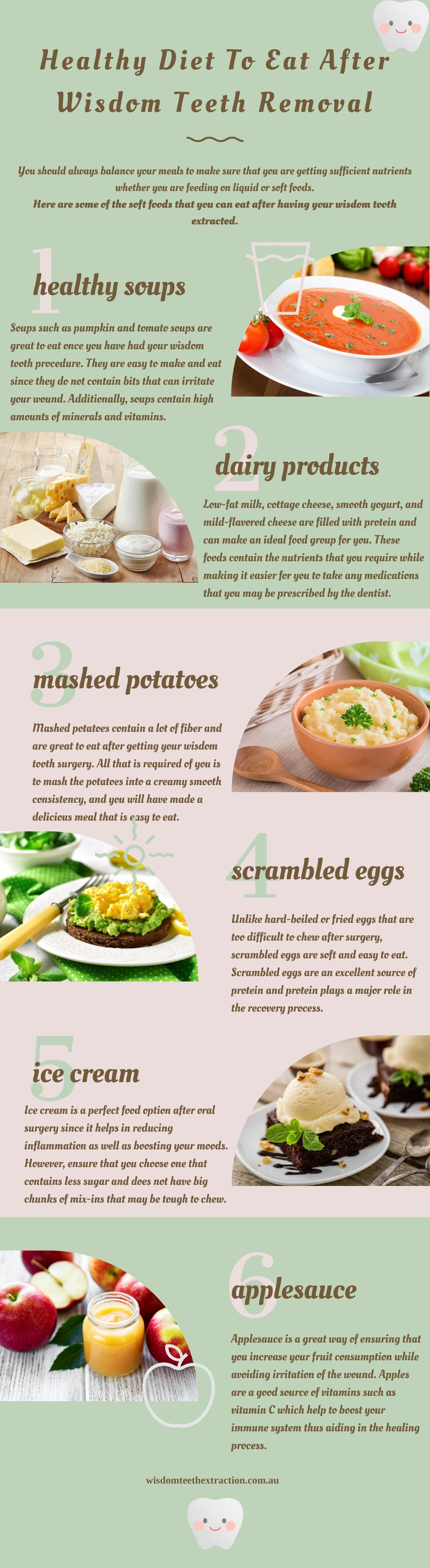 Food Tips After Wisdom Tooth Removal After Wisdom Teeth Removal Wisdom Teeth Wisdom Teeth Removal