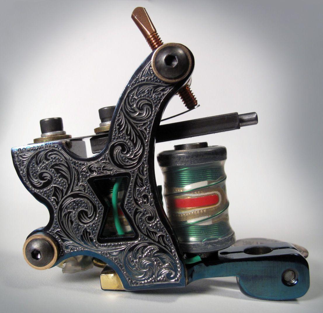 Dringenburg Custom #Tattoo-Machines | Tattoo machine ...