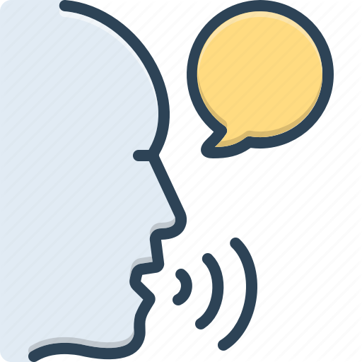 Communicate Say Sound Speak Talk Tell Voice Icon Download On Iconfinder Icon Vector Pattern The Voice