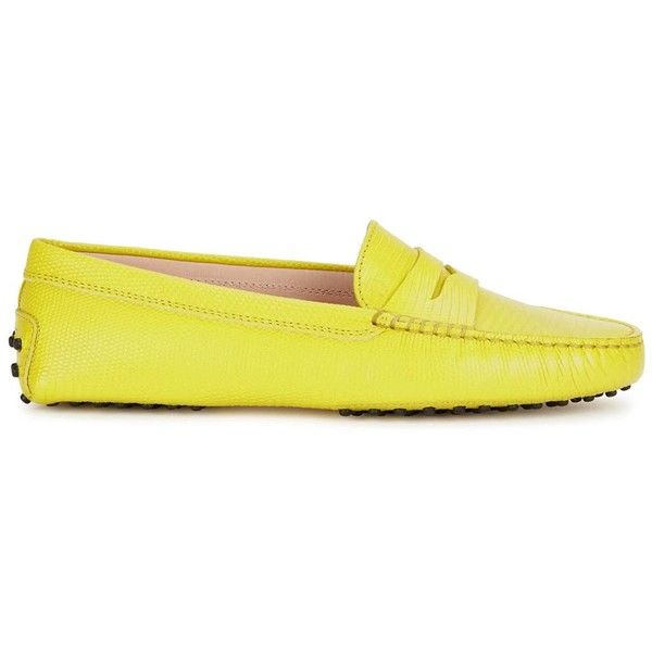Tod's Women's Yellow Loafers free shipping pre order sale Cheapest cheap for nice cheap wholesale UJ4hK