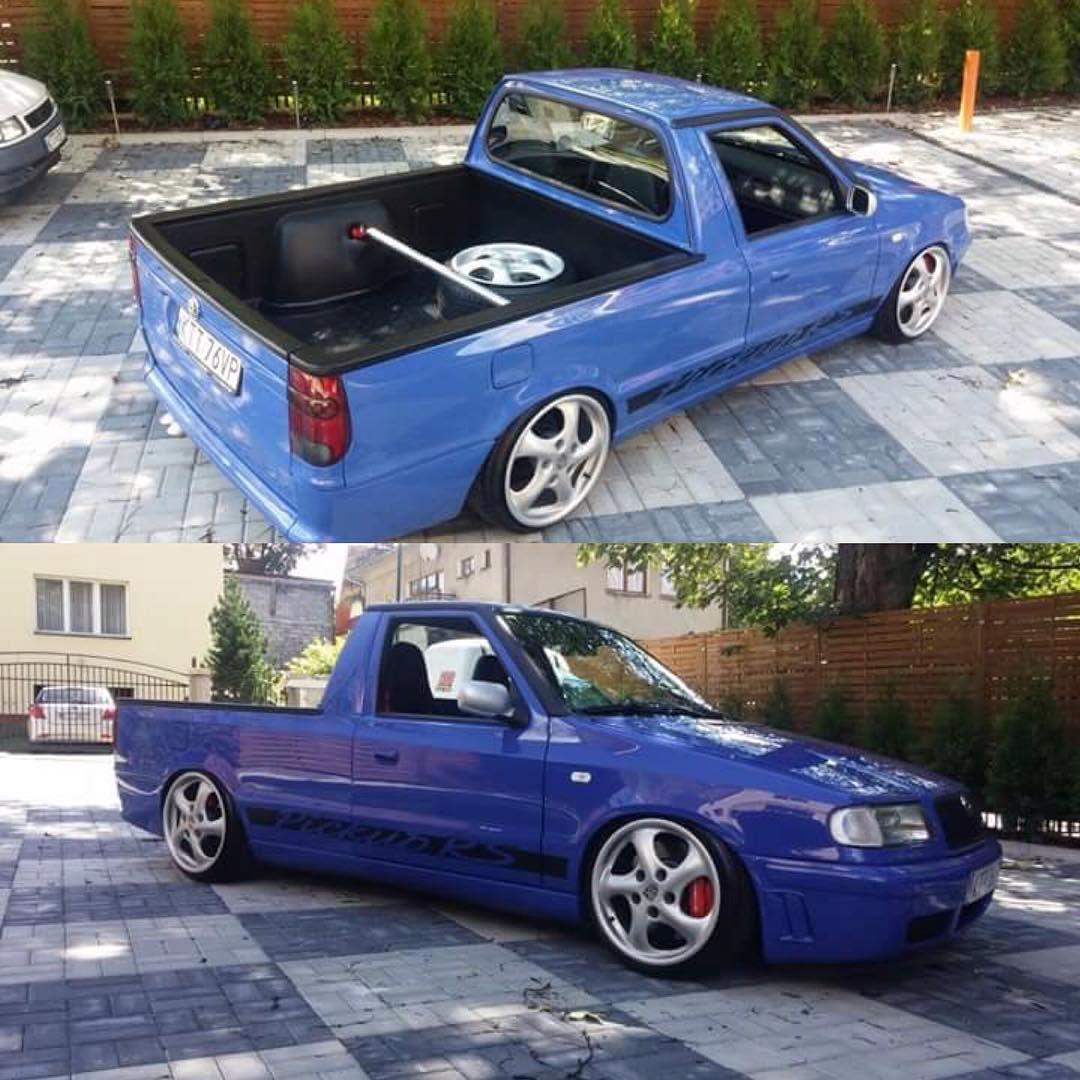 Vw Caddy Mk2 Skoda Pick Up With Images Pojazdy Samochody