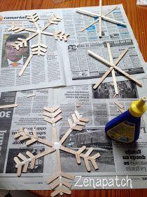 Zenapatch: 10 ideas para una fiesta Frozen! (con imprimibles! gratis!!)  DIY FROZEN SNOWFLAKES + printables and ideas 4 a perfect FROZEN PARTY