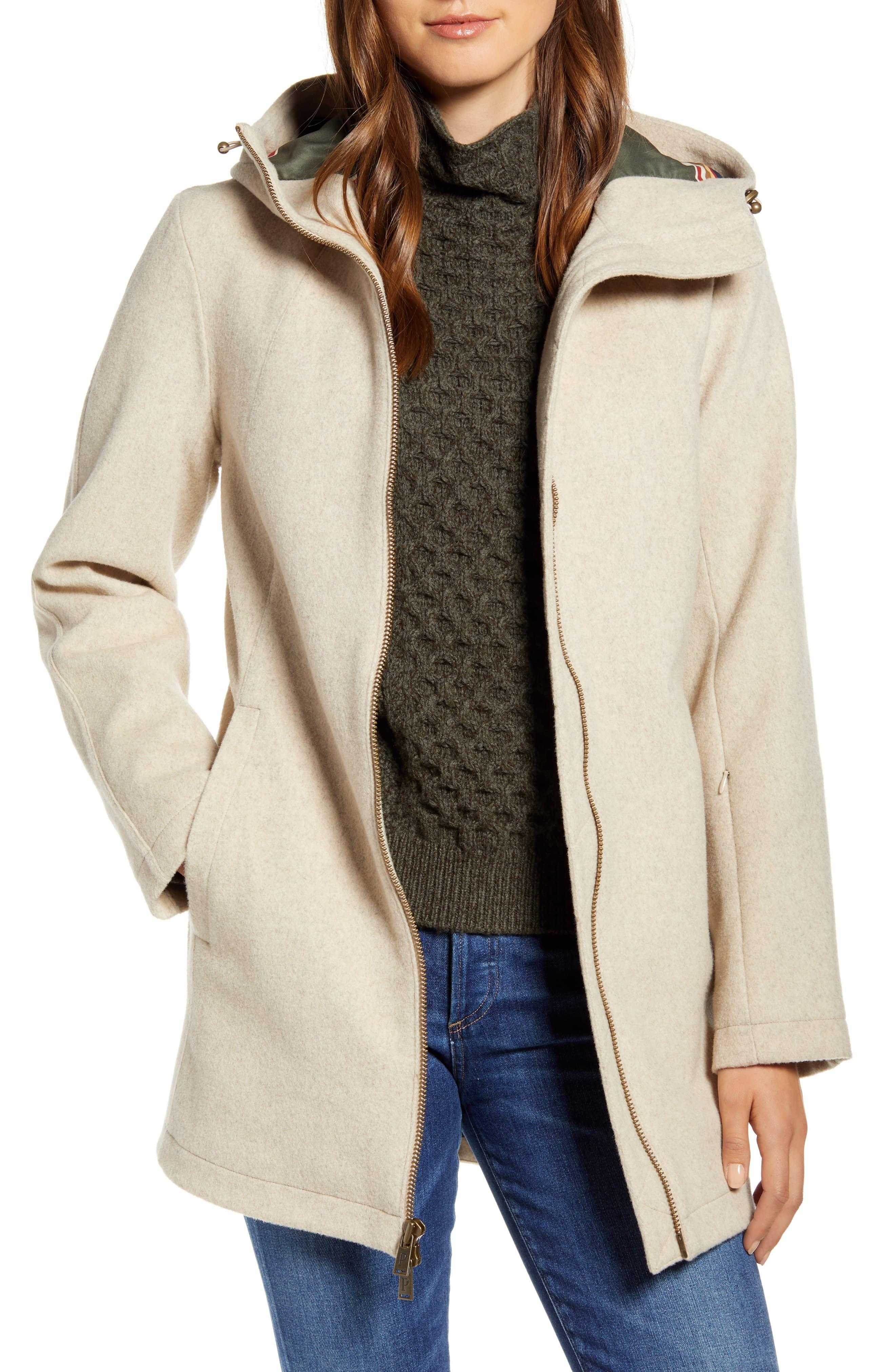 Pendleton Finlay Waterproof Hooded Wool Blend Coat Nordstrom Warm Fall Jacket Coat Walking Coats [ 4048 x 2640 Pixel ]