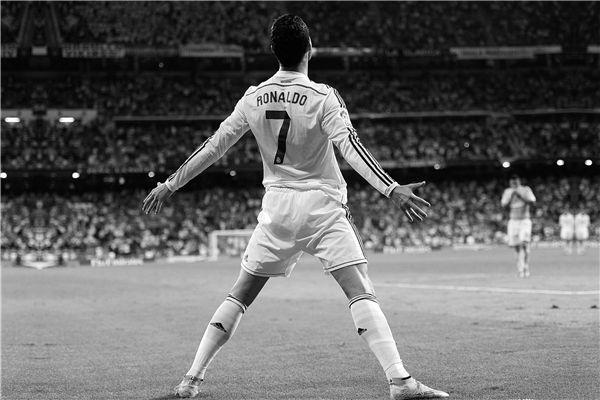 Ronaldo 7 Real Madrid Portuguese Football Player Poster Sport Motivation Star