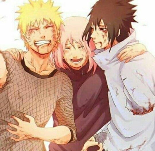Equipo 7! Naruto, Sasuke Y Sakura