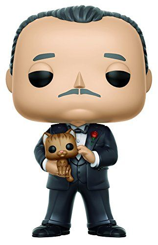 From Godfather Vito Corleone As A Stylized Pop Vinyl From Funko Figure Stands 3 3 4 Inches And Comes In A Window Display Box Ch Funko Pop The Godfather Funko