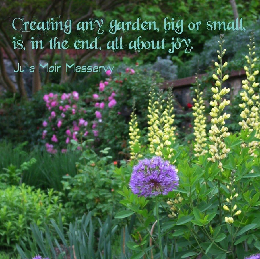Creating A Garden Big Or Small In The End Is All About Joy With
