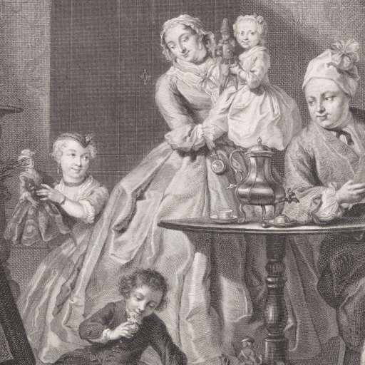 Sint Nicolaasfeest Rijksmuseum.Sint Nicolaasfeest Jacob Houbraken Pierre Fouquet Jr