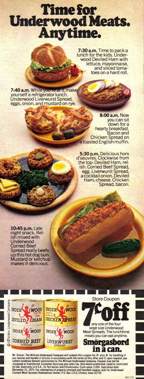21 Truly Upsetting Vintage Food Advertisements (With