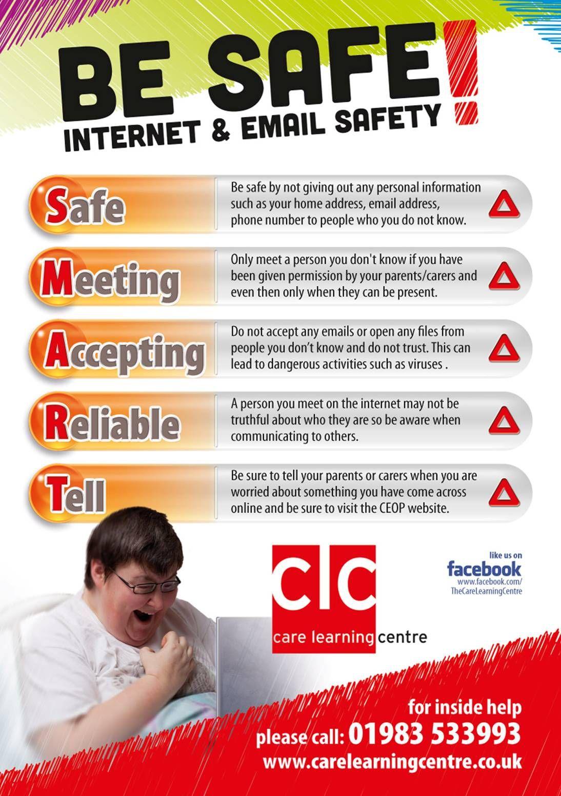 Clc be safe be smart 2013 leaflet promoting safety on