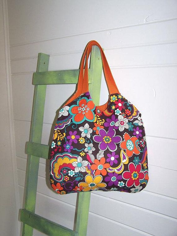the Alice Bag in Burst of Flowers in by thejoyschoppe, $36.00