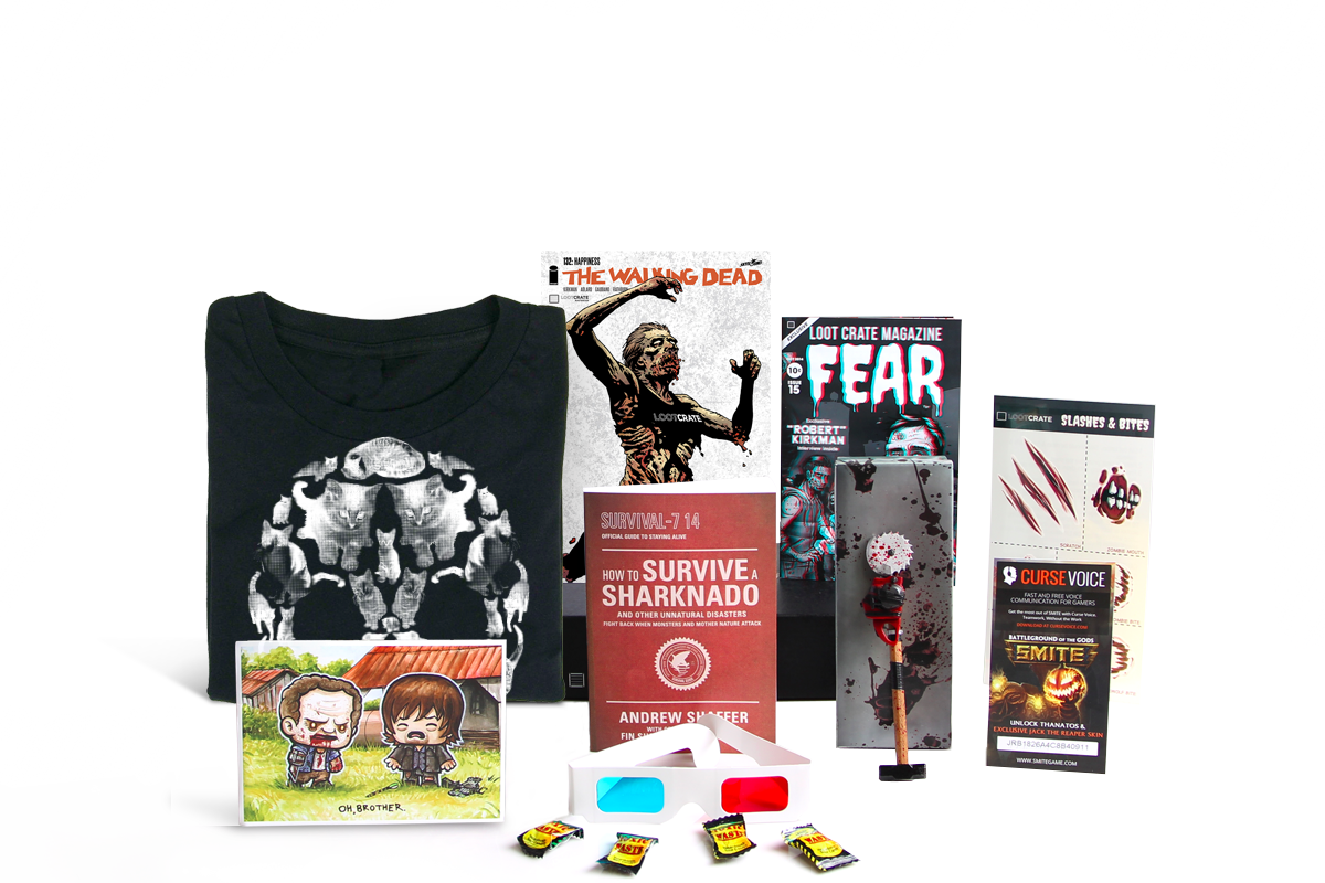 Loot Crate Monthly Geek and Gamer Subscription Box (With