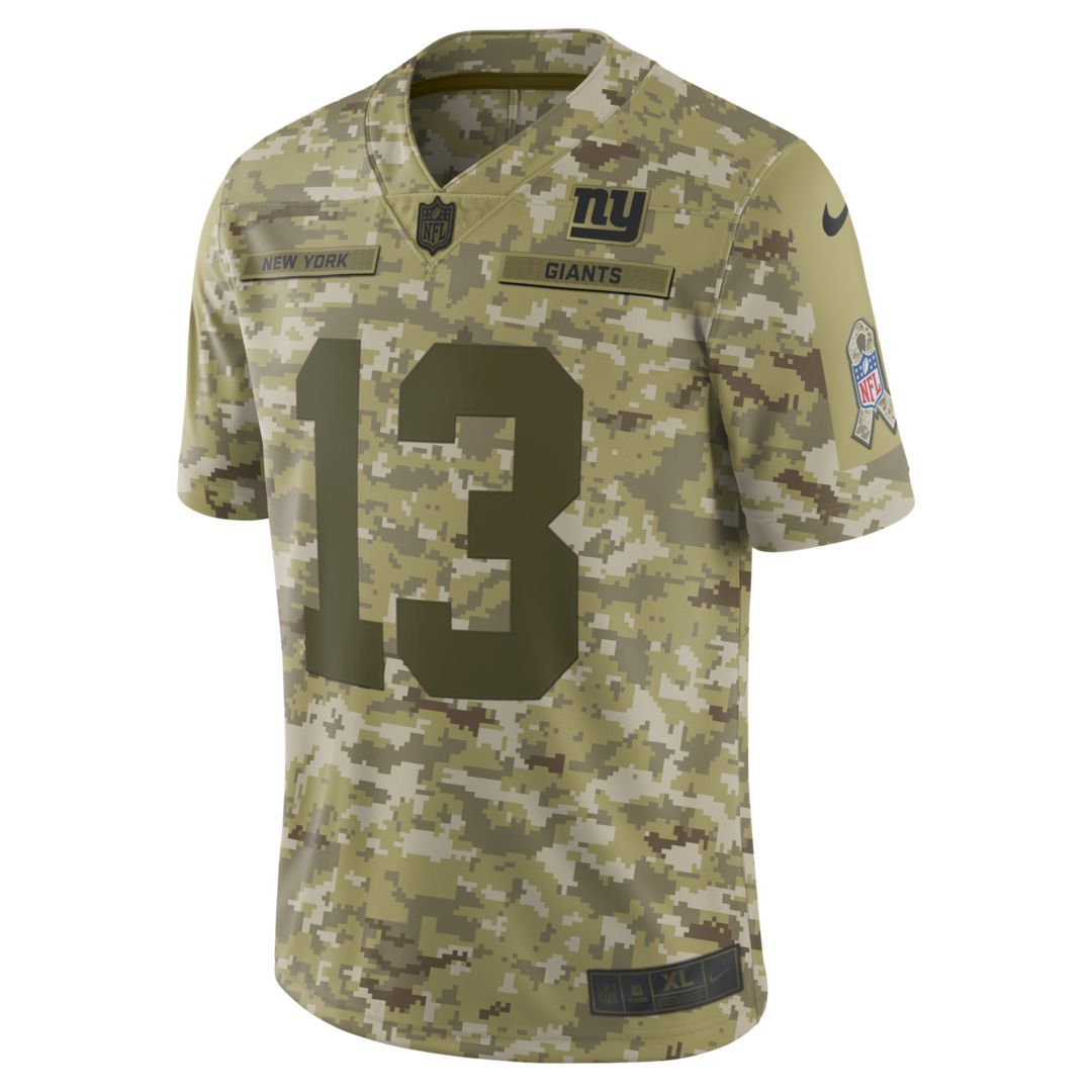 innovative design 60a18 4ab0a NFL New York Giants Salute to Service Limited Jersey (Odell ...
