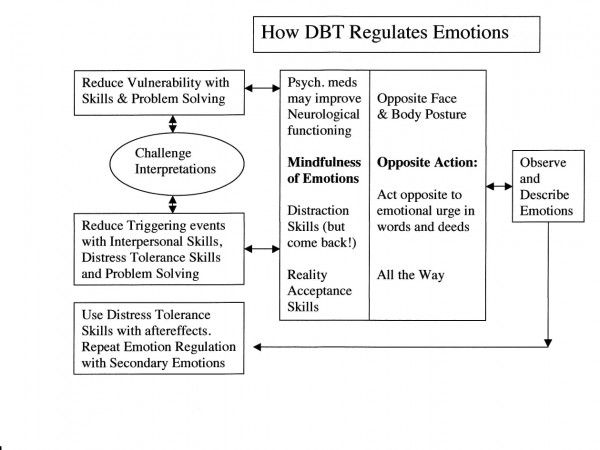 How DBT Regulates Emotions – Emotion Regulation Worksheet