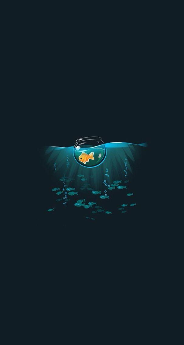 Fish Wallpaper Planos De Fundo Papeis De Parede Desenhos