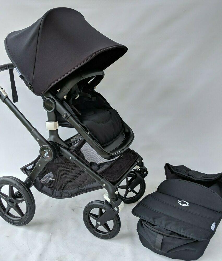 Bugaboo Fox stroller BLACK IN BLACK Bugaboo baby