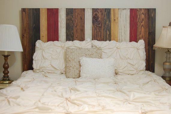 Fall Mix Design - Barn Walls King / Cal King Headboard Hang on the