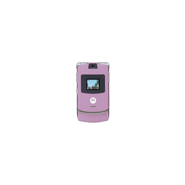 Motorola RAZR V3 Lilac Unlocked Quadband GSM Phone ❤ liked on Polyvore featuring fillers, purple, phones, electronics, purple fillers, doodle and scribble