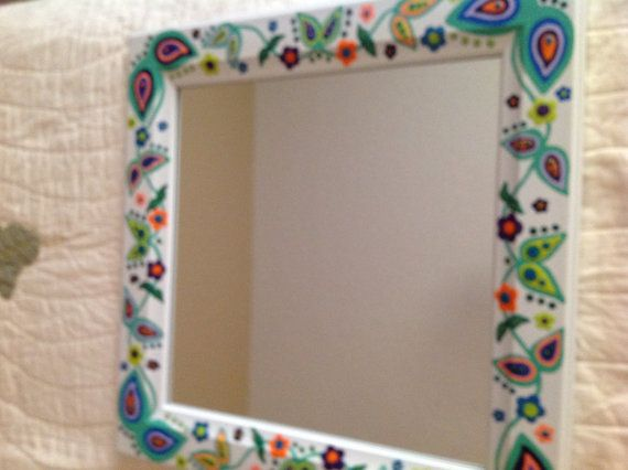 This Item Is Unavailable Etsy Hand Painted Mirrors Painting Mirror Frames Mirror Painting