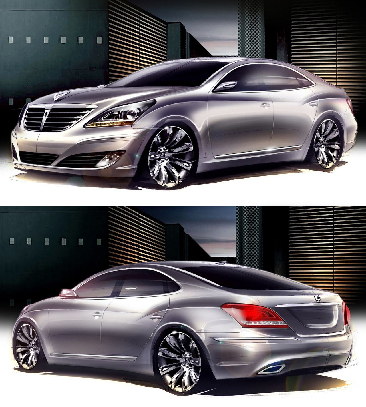 Pin By Lithia Nissan Hyundai Of Fresn On The Art Of Horsepower Dream Cars Concept Cars Hyundai Genesis Coupe