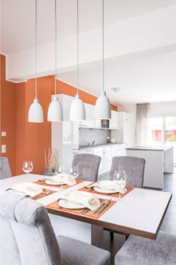 orange is the new black wie wre es denn mit ein wenig farbe im esszimmer - Esszimmer Orange