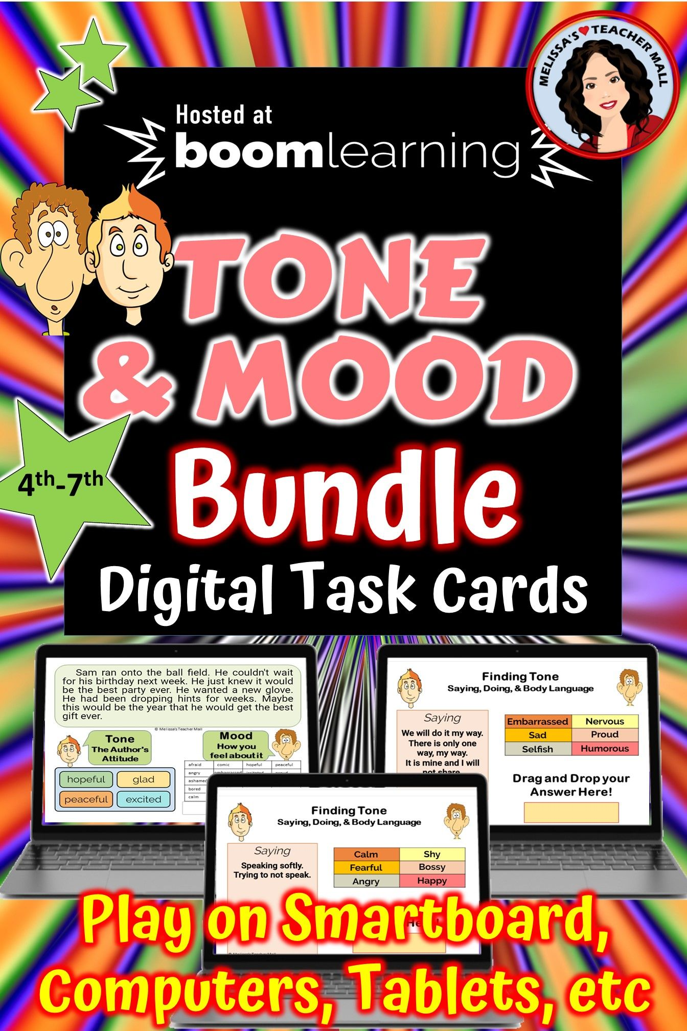 Tone And Mood Is A Hard Concept Give The Students A