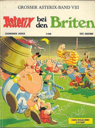 Asterix Bei Den Briten 8 Kindheitserinnerungen Asterix Und Obelix Comic Helden
