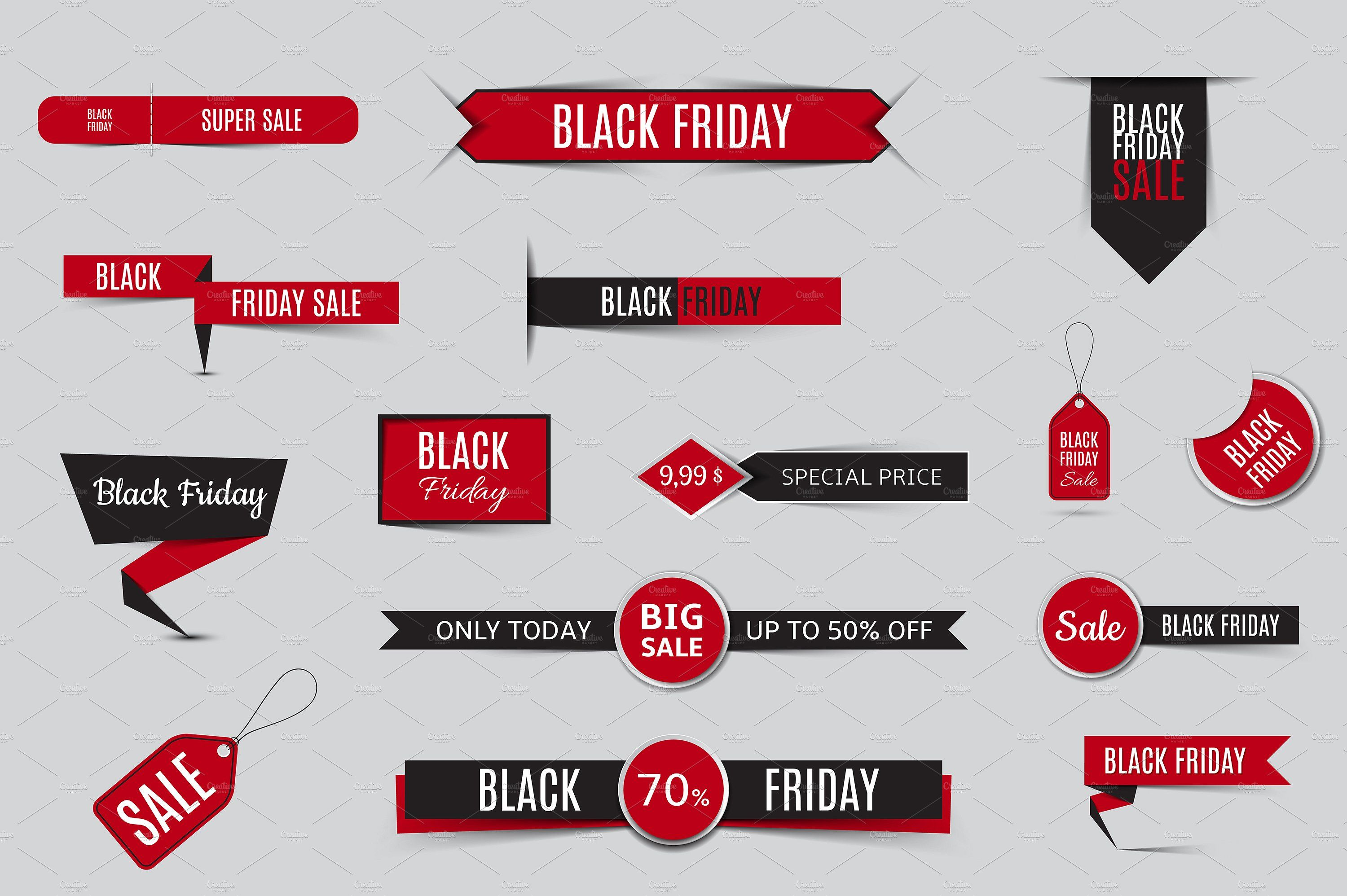 Collection Of Sale Banners Sale Banner Custom Icons Discount Banner