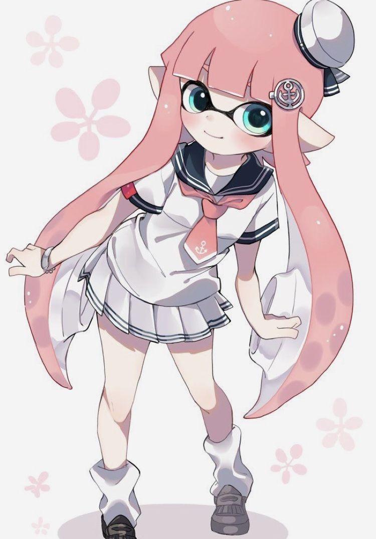 Pin By Potato Tato On Woomypatato Splatoon Kawaii Anime