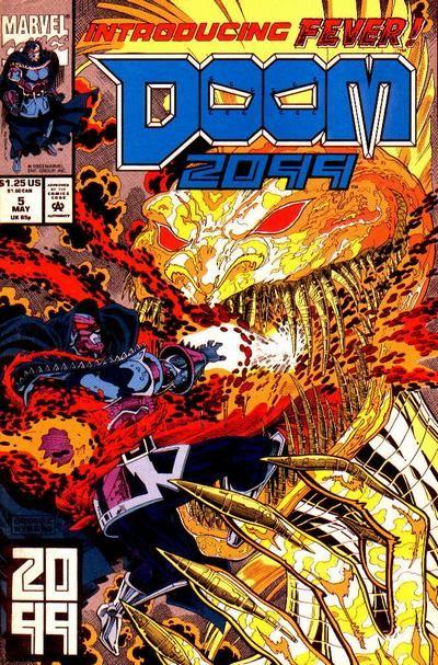 Doom 2099 # 5 by Pat Broderick & John Nyberg