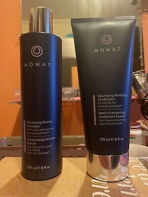 monat shampoo and conditioner Volumizing Revitalize