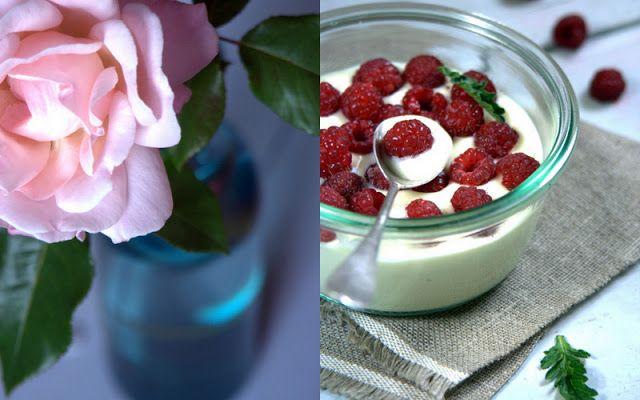 Gourmandises Chroniques: La petite crème chocolat blanc à la verveine et au...