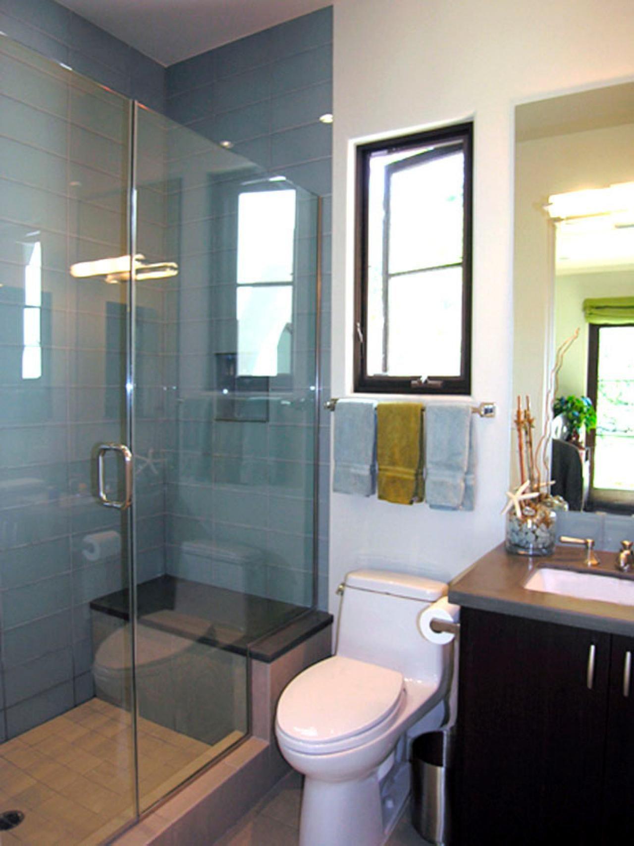 Three-Quarter Bathroom  Bathroom shower design, Bathroom layout