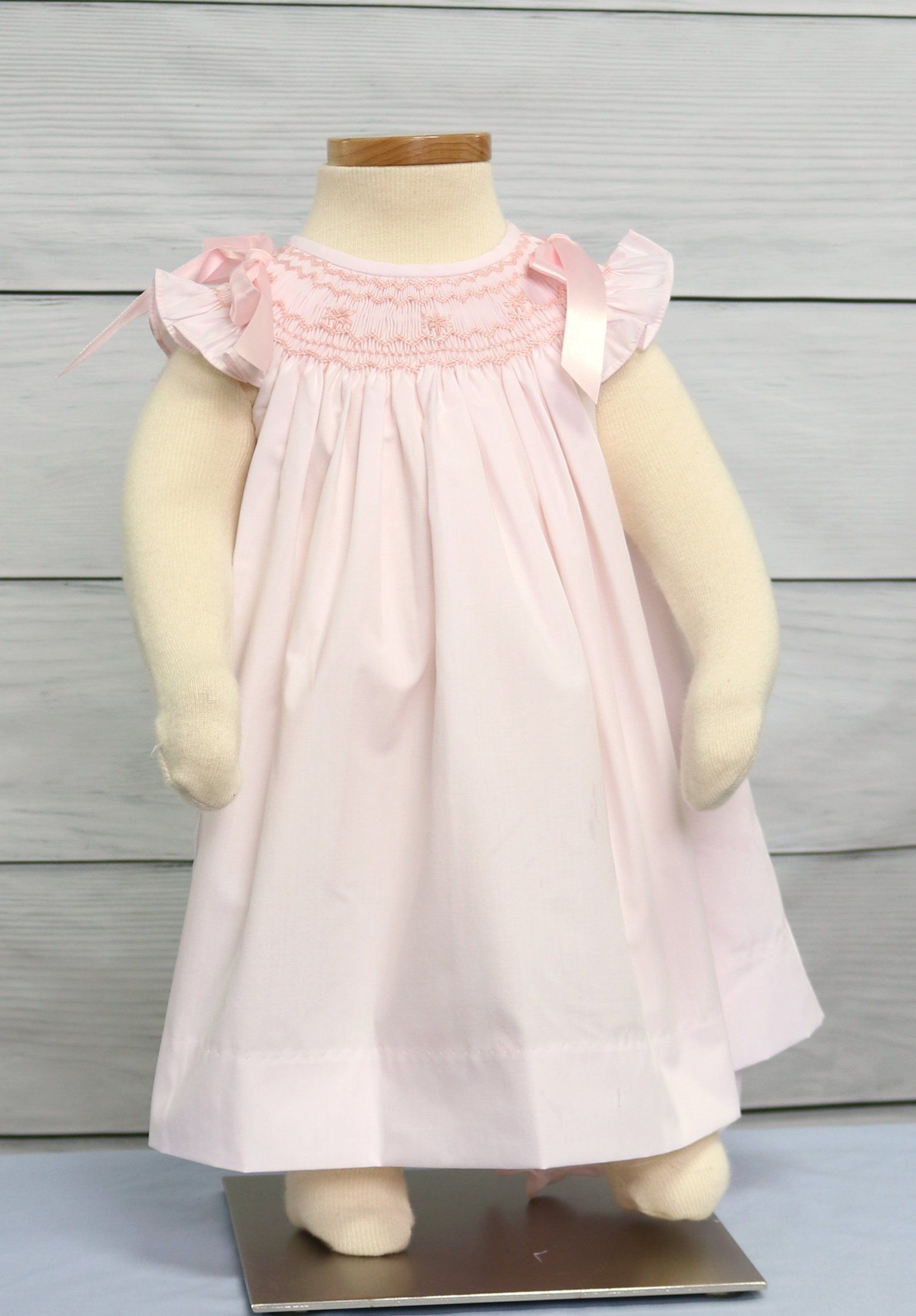 Baptism dress for baby girl smocked easter dress infant